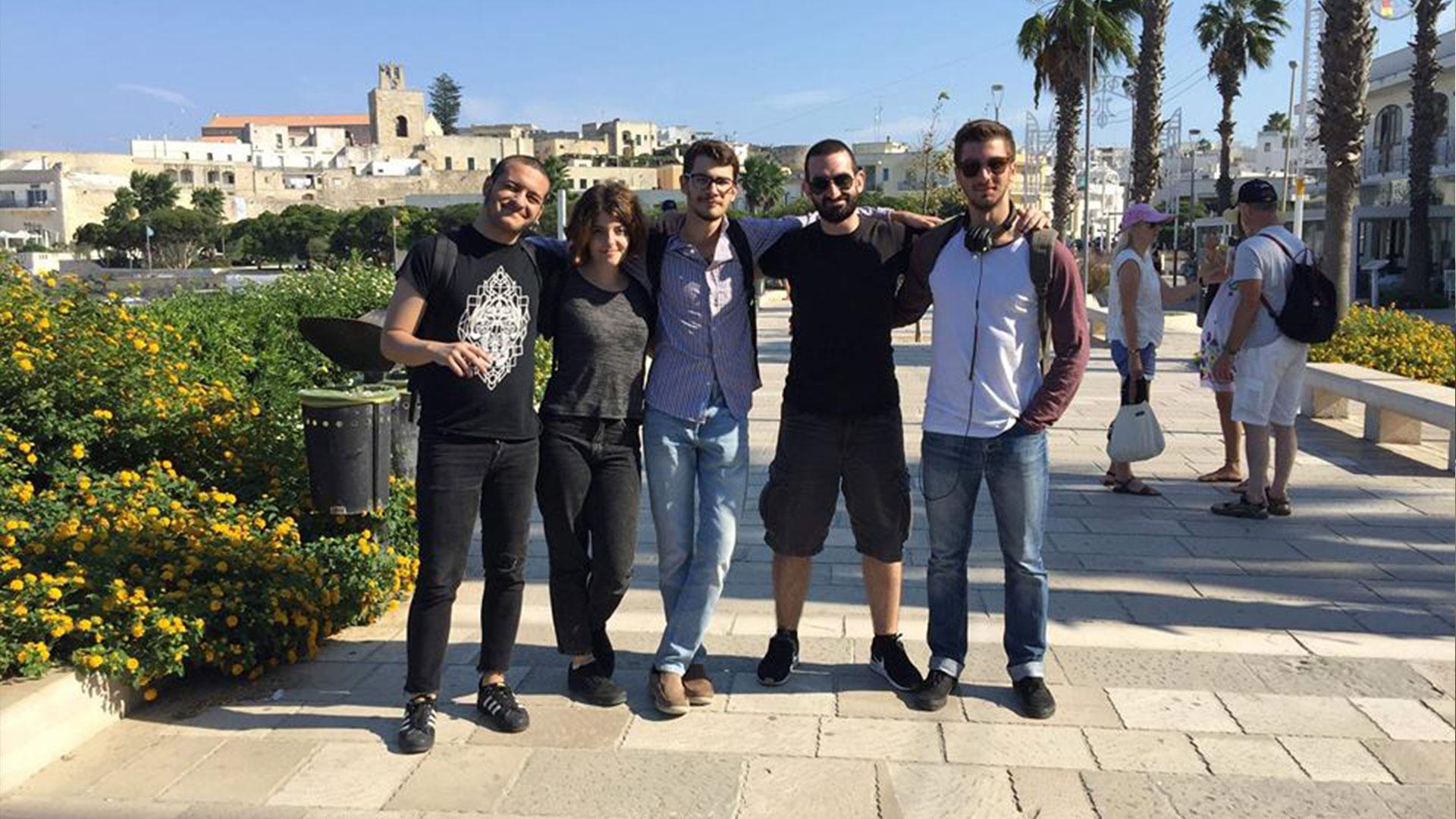 5 σπουδαστές μας στο Otranto Film Fund Festival 2018